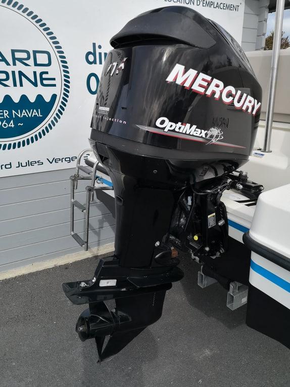 Moteur Mercury 115 Optimax sur Quicskilver 555 open Activ