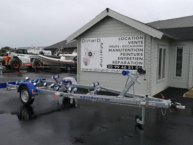 Remorque bateau G820M19