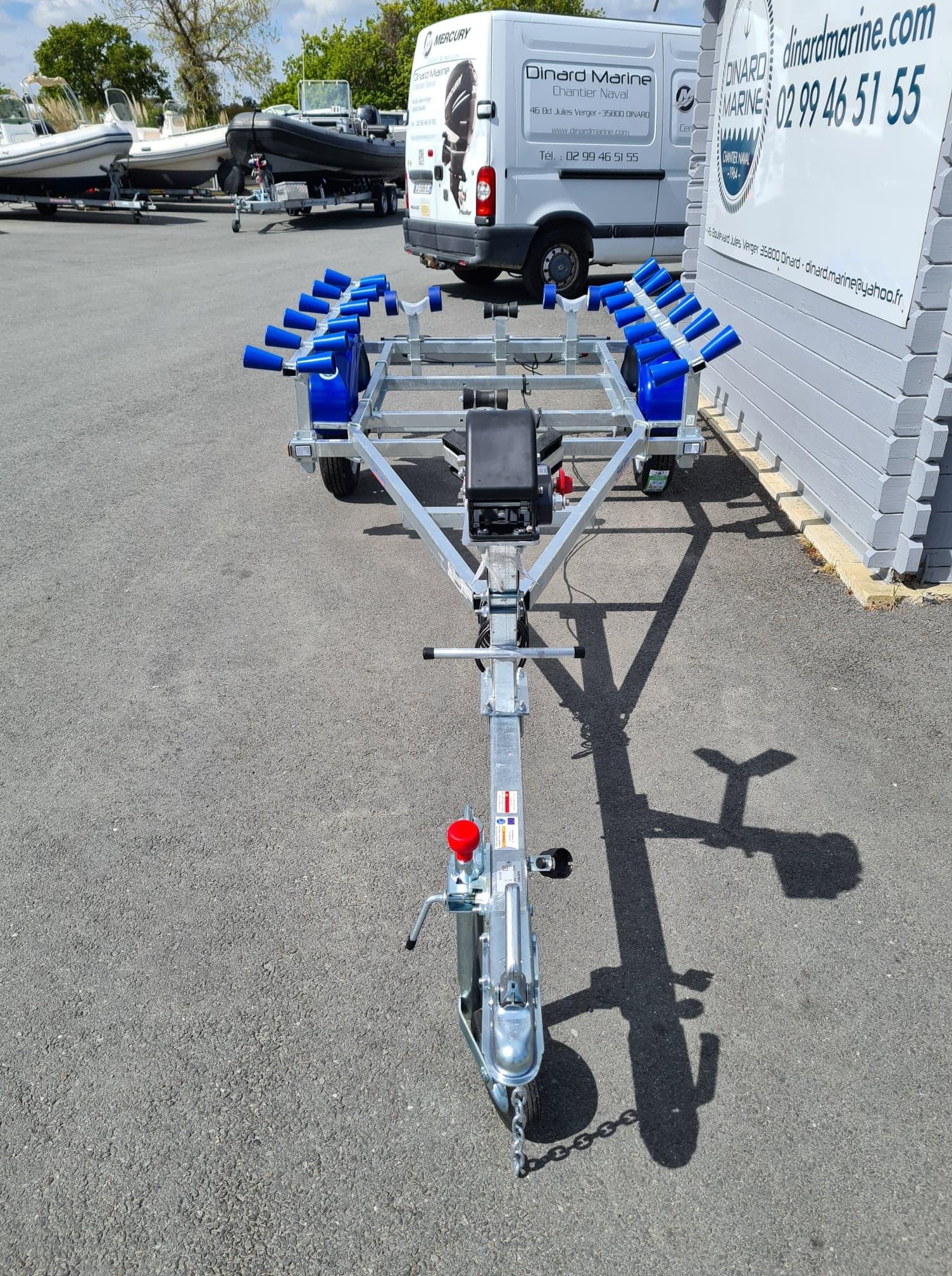Timon Promotion remorque Sun Way SW265 PTAC 500 Kg spécial pneumatique