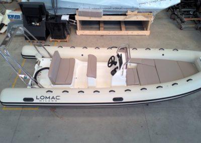 Lomac 600 Turismo + Mercury 115 Cv